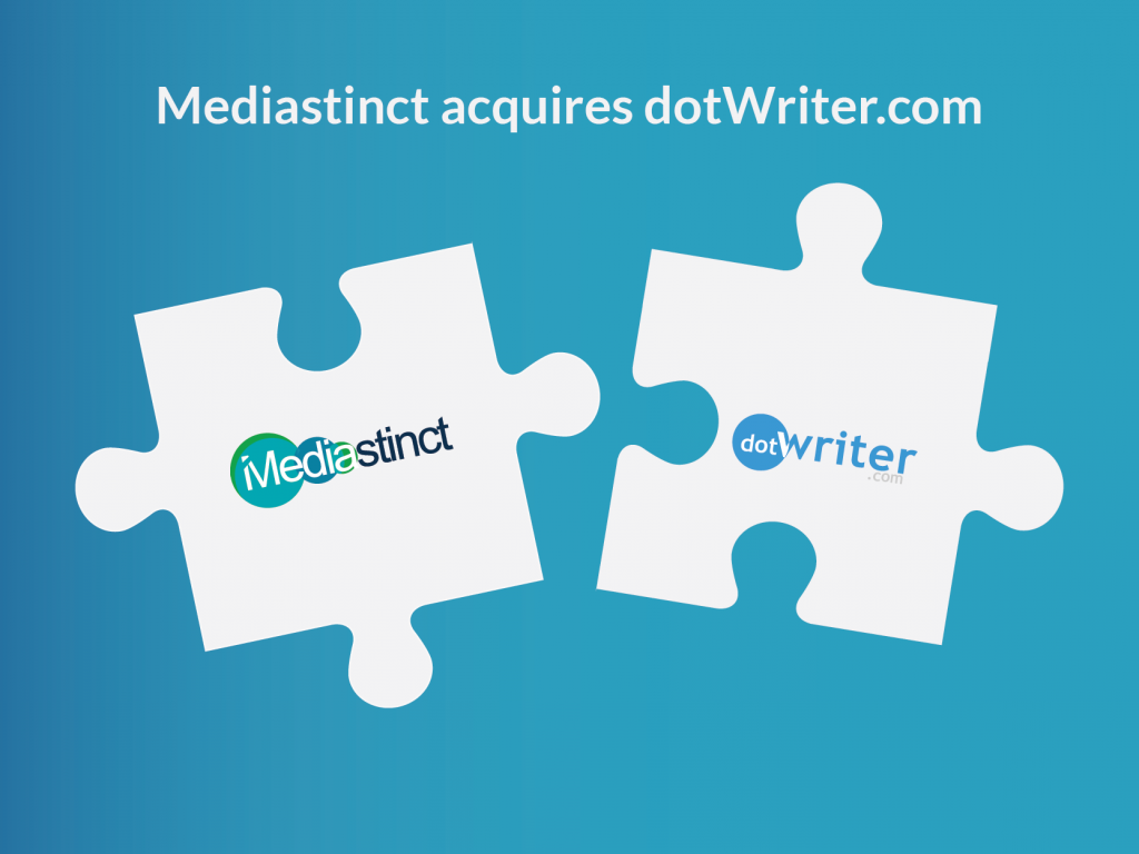 Mediastinct™ acquires dotwriter